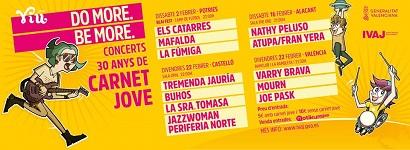 Los eventos del Carnet Jove: chollo en el País Valencià